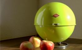 Stylischer Obstkorb – Superball von Wesco