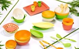 Naturprodukt – Bambus Geschirr