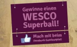 Wesco Superball Verlosung