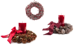 Weihnachtliche Wohnaccessoires