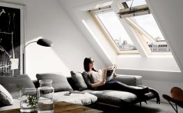 Mehr Wohnlichkeit durch große Fenster