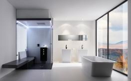 Großes Badezimmer – schöne Ideen