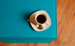 Schicker Sitzwürfel als tolles Möbelstück