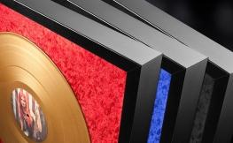 Deine persönliche goldene Schallplatte