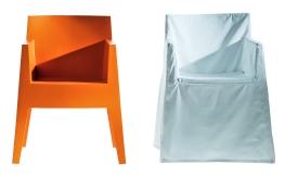 Alte Stühle mit Hussen aufhübschen