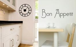 Individuelle Wandgestaltung in der Küche
