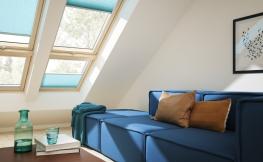 Faltstores – Fensterdekoration und Sonnenschutz