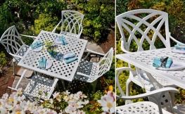 Praktisch und schick: Gartenmöbel aus Aluminium