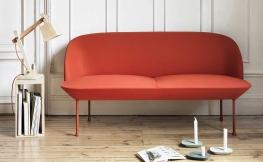 Sofakollektion OSLO von Muuto