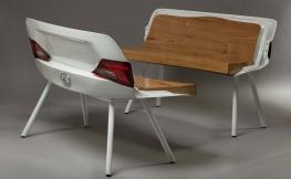 Up the Auto: Wie aus dem fahrbaren Untersatz trendige Möbel werden