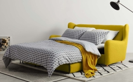 6 stylische Schlafsofas für unter 500 Euro