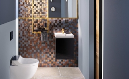 Schicke Ideen für kleine Badezimmer