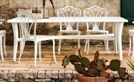 Retro-Chic und Vintage im Garten und auf der Terrasse