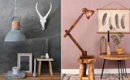 Natürlicher Charme und Individualität: Lampen aus Holz