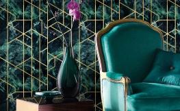 Metallische Decken- und Wandgestaltung – so gelingt sie