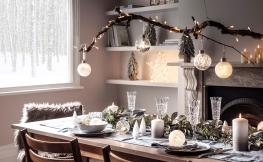 Weihnachtsdekoration für kleine Häuser und Wohnungen