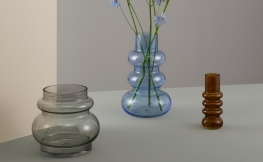 3 Designer Blumenvasen als echte Hingucker