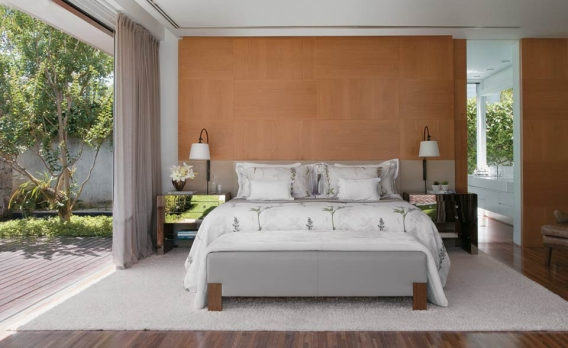Schlafzimmer im mediterranen Stil