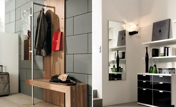 kleinen flur gestalten. Black Bedroom Furniture Sets. Home Design Ideas