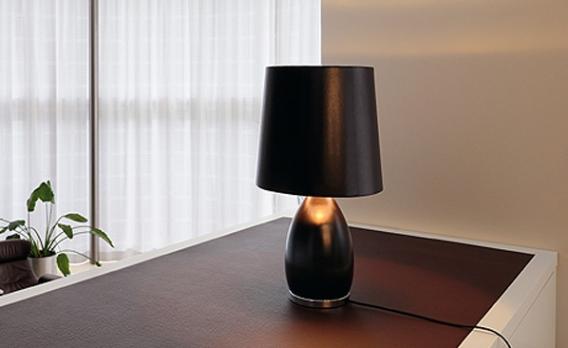 moderne tischleuchten. Black Bedroom Furniture Sets. Home Design Ideas