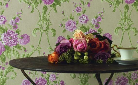 Wohnen und deko mit blumen for Zimmer deko rosen