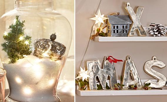 Festliche weihnachtsdeko f r das wohnzimmer for Weihnachtsdeko zimmer