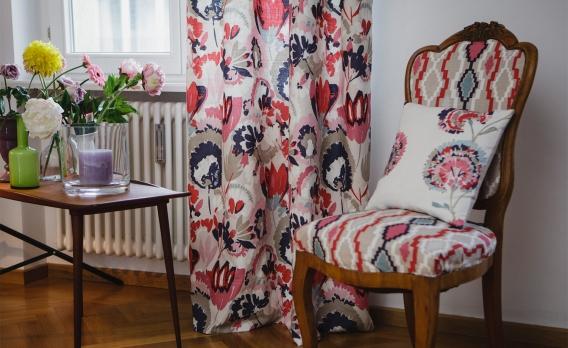 dekoschal als alternative zur gardine raumideen. Black Bedroom Furniture Sets. Home Design Ideas