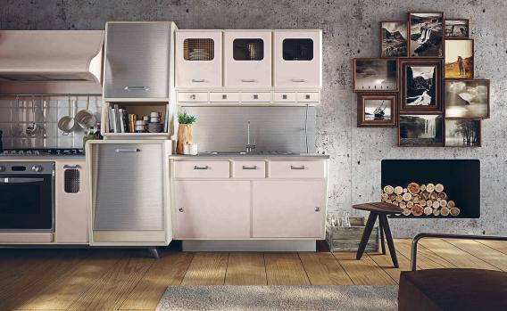 50er jahre vintage k che. Black Bedroom Furniture Sets. Home Design Ideas