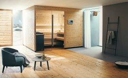 Luxus pur – Wellnessbad mit Sauna