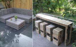 Upcycling – Gartenmöbel aus Europaletten