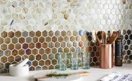 Mosaik in der Küche