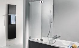 Badewannenfaltwände – die perfekte Alternative zwischen Duschvorhang und Duschkabine