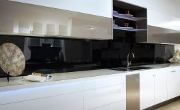 Der Küche einen edlen Look verpassen – mit Acrylglas klappt's