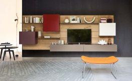 Individuell einrichten mit modernen Wohnwänden