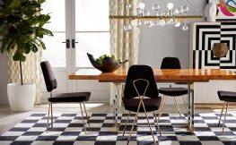 Designer-Möbel im Esszimmer