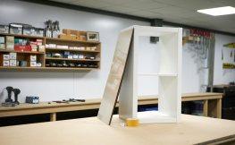 Ikea Kallax-Regale indivdiualisiert mit Acrylglas