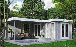 Moderne Gartenhäuser – Inspirationen für ein Sommerhäuschen