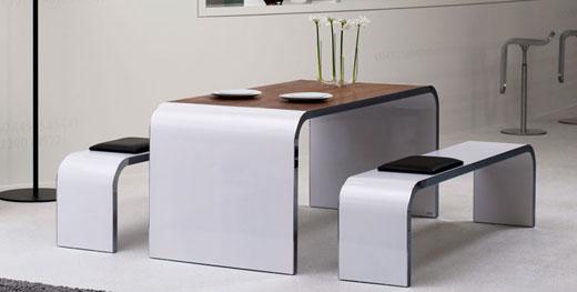 Designer Esstisch bellezza designmöbel tisch sideboard und sitzbank raumideen org