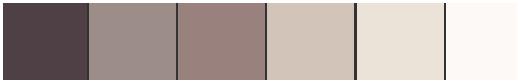 Farbpalette für Schlafzimmer