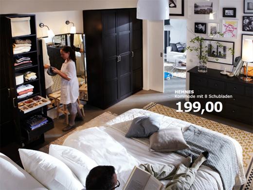 schlafzimmer gestalten ikea verschiedene ideen f r die raumgestaltung inspiration. Black Bedroom Furniture Sets. Home Design Ideas