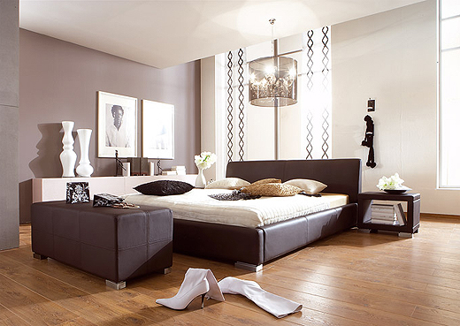 schlafzimmer einrichten braunt ne. Black Bedroom Furniture Sets. Home Design Ideas