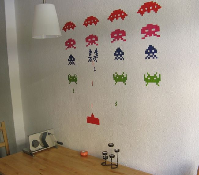 Spaceinvaders Tapete