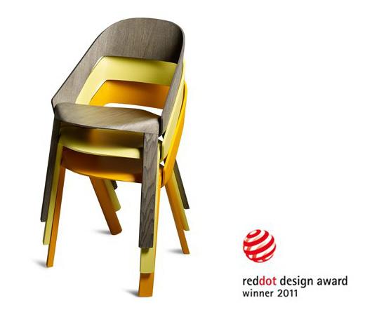 Wogg 50 stuhl multifunktionaler stapelstuhl for Stuhl design award