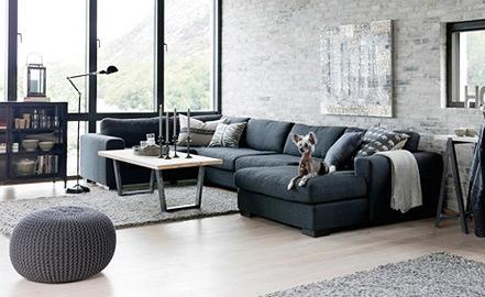 Wohnzimmer Einrichten - Raumideen.org Wohnzimmer Skandinavisch Gestalten