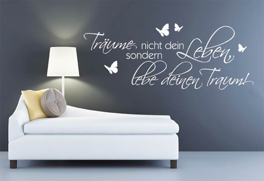 kreative ideen f r eine pfiffige wandgestaltung. Black Bedroom Furniture Sets. Home Design Ideas