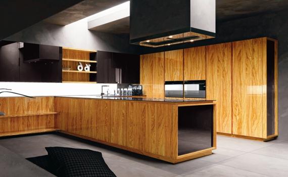 Holzkuche dekoration inspiration innenraum und mobel ideen for Holzküche