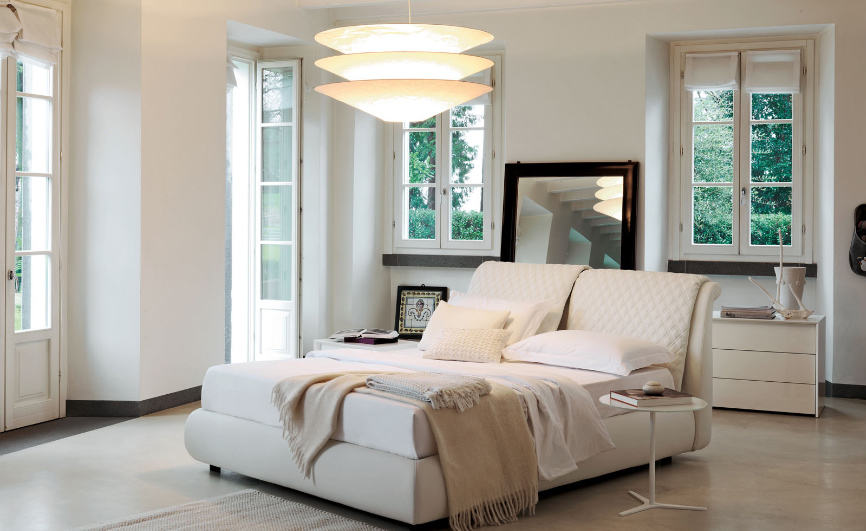 Moderne schlafzimmer for Schlafzimmer tapete modern