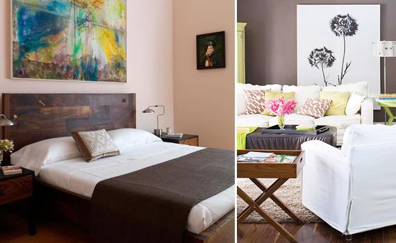 w nde mit kunstkopien versch nern. Black Bedroom Furniture Sets. Home Design Ideas