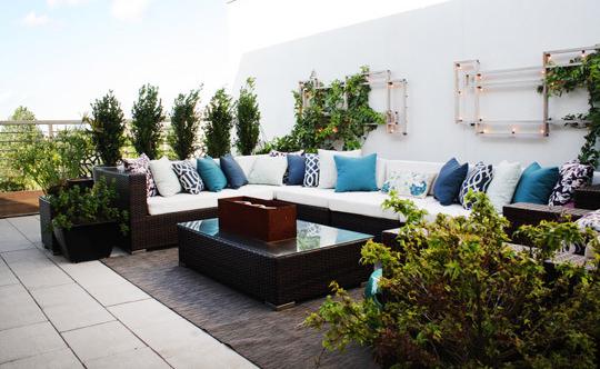 Wohnung mit terrasse for Wohnung modern gestalten