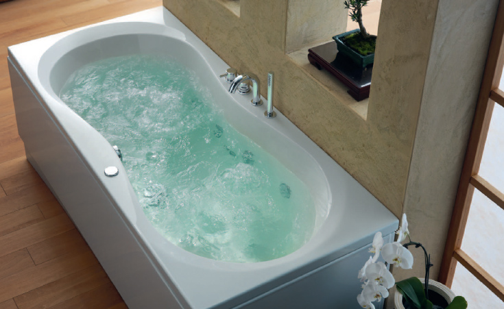 badewanne mit whirlpoolfunktion it49 hitoiro. Black Bedroom Furniture Sets. Home Design Ideas